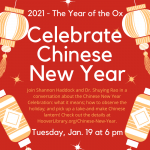 Celebrate Chinese New Year - 2021 Year of the Ox