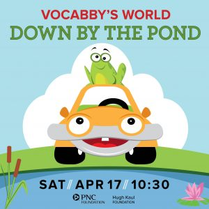 ArtPlay Presents Vocabby's World Down by the Pond