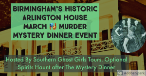 March Murder Mystery Dinner and Optional Spirits H...