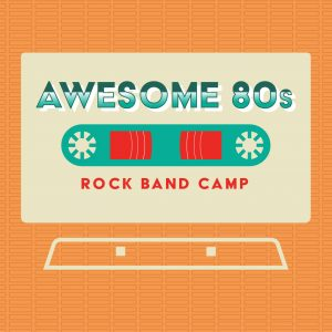 Mason Music Awesome 80s Rock Band Camp