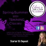 Spring and Summer Eyelash Extension Training classes Birmingham, Al March 20 and 21
