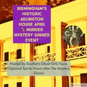 April Murder Mystery Dinner Event at Birmingham'...