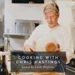 Cooking with Chris Hastings, hosted by Little Professor