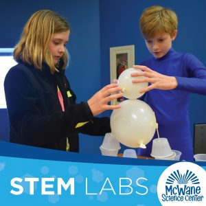 Homeschool S.T.E.M. Labs by McWane Science Center