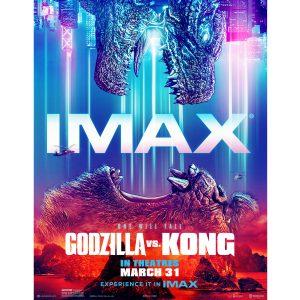 Godzilla vs Kong in the IMAX Dome Theater!