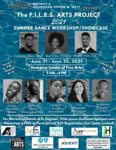 The FILES Arts Project (TFAP) 2021 Summer Dance Wo...