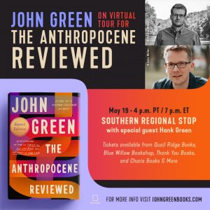 AUTHOR EVENT: JOHN GREEN WITH SPECIAL GUEST HANK G...