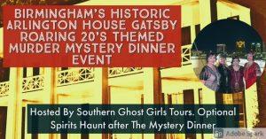 Roaring 20's Interactive Murder Mystery Dinner E...