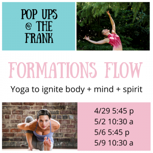 Formations Flow Yoga Pop Ups