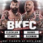 BKFC 17: Cleckler vs. Burns