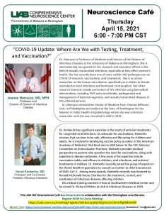 """UAB Neuroscience Cafe """"COVID-19 Update: Where Are ..."""