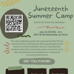 Juneteenth Youth Summer Camp June 14-19th, 2021