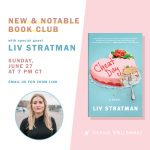 BOOK CLUB + AUTHOR VISIT: Cheat Day by Liv Stratman