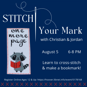 Stitch Your Mark with Christian and Jordan