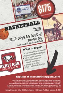 Heritage Basketball Camp