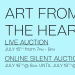 Charity Art Auction: Art From The Heart by Studio By The Tracks