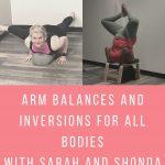 Arm Balances and Inversions
