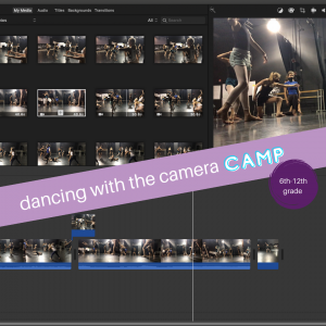 Dancing With The Camera Camp