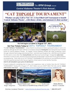 C.A.T.'s TOPGOLF Tournament and Auction!