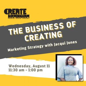 The Business of Creating: Marketing Strategy