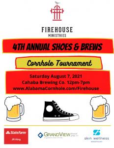 Firehouse Ministries' Shoes and Brews Cornhole Tournament