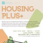 Housing Plus+ w/ David Baker Architects, Zimmerman Properties, and TriStar