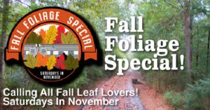 Fall Foliage Special