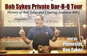 Bob Sykes BBQ Tour and Demo