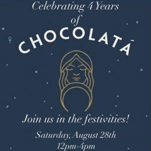Chocolatá Anniversary Sidewalk Party