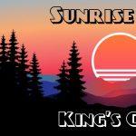 Sunrise Hike: King's Chair