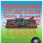 Birmingham Record Collectors 36th Annual Show