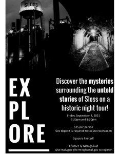 Sloss Furnaces Historic Night Tour