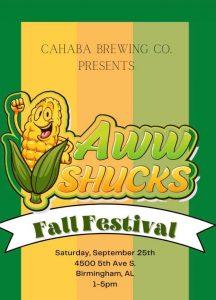 Aww Shucks Fall Festival