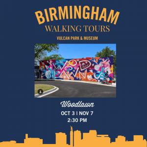 Birmingham Walking Tour: Woodlawn