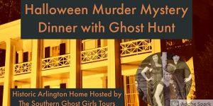 Halloween Murder Mystery Dinner and optional Ghost...