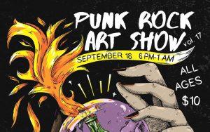 Punk Rock Art Show Vol 17