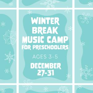 Mason Music Winter Break Music Camp For Preschoole...