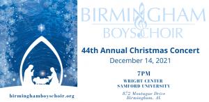 Birmingham Boys Choir 44th Annual Christmas Concert