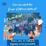 LWVGB Virtual Meet-Up - An introduction to the League of Women Voters and current actions