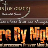 FIRE BY NIGHT - PRAYER MEETING