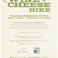 Mt Laurel Wine & Cheese Hike