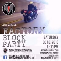 4th Annual Factory Block Party