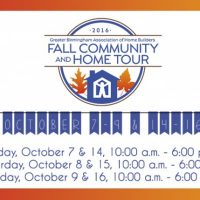 Fall Community and Home Tour