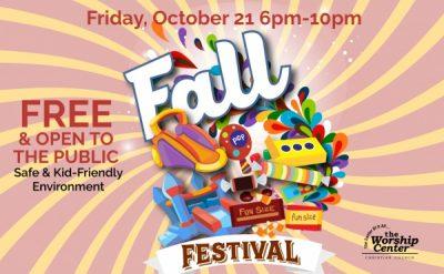 The Worship Center's Fall Festival