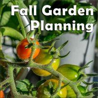 How to Build a Better Garden – Fall Garden Planning