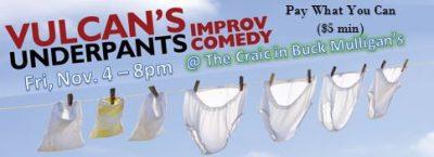 Vulcan's Underpants Improv Comedy!