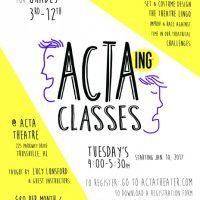 ACTAing Classes