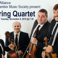 Amernet String Quartet, Presented by BCMS and BAMA