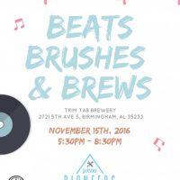 Beats, Brushes & Brews