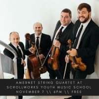 Amernet String Quartet at Scrollworks